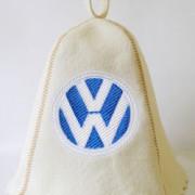 Шапка для сауны с вышивкой 'Фольксваген'