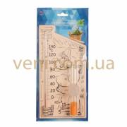 Банная станция, часы песочные и термометр для сауны