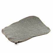 Коврик для сауны  б/вышивки (серый войлок)