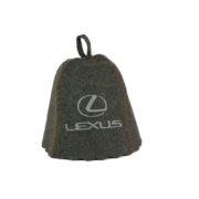 Шапка «Лексус» серый войлок