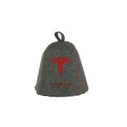 Шапка для бани «Тесла » серый войлок